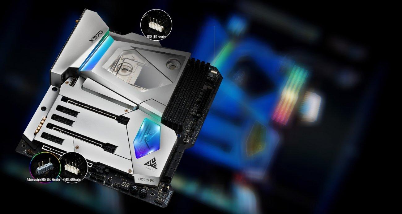 ASRock's new X570 Aqua motherboard is liquid-cooled work of art