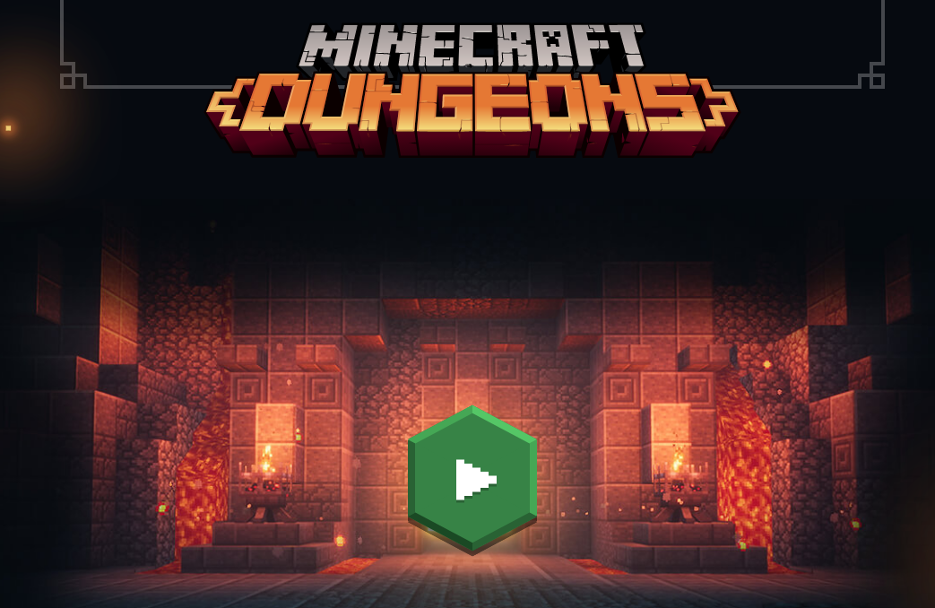 Minecraft Dungeons Opening Cinematic Shows Off A Mysterious