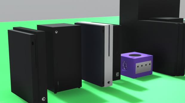 Xbox Series X Size Comparison Vs Xbox One Ps4 Pro Switch Tweaktown