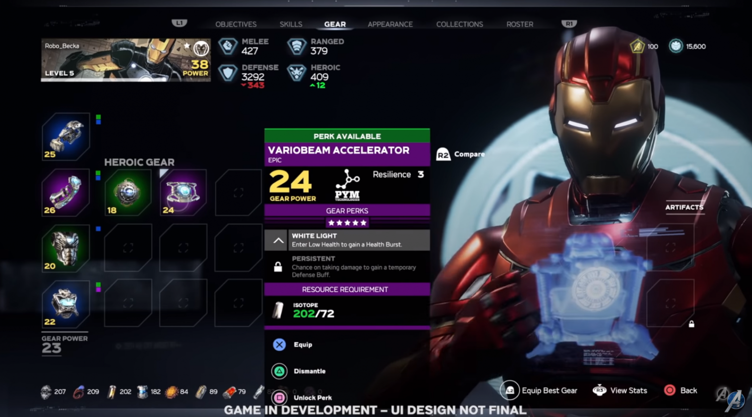 New Avengers live game has 10 different ...