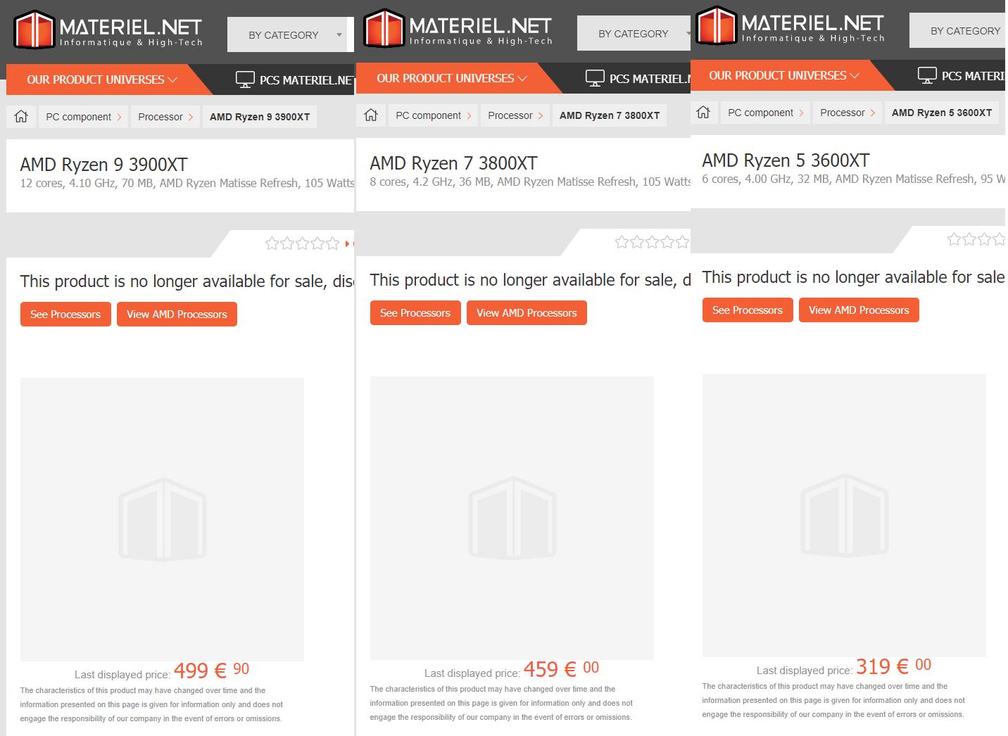 Amd S New Ryzen 9 3900xt Processor Appears On French Retailer Website Tweaktown