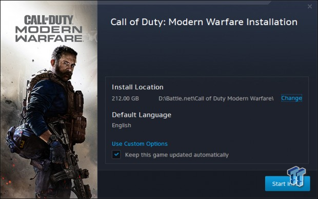 Call Of Duty Modern Warfare Download Size Is Now Over 200gb On Pc Tweaktown