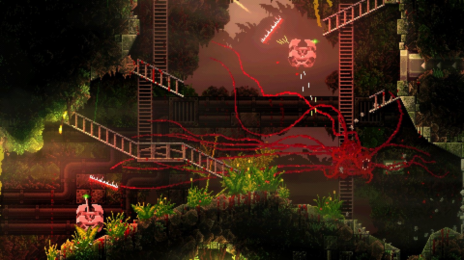 Carrion Unleashes Cronenberg Horror July 23 On Switch Pc Xbox