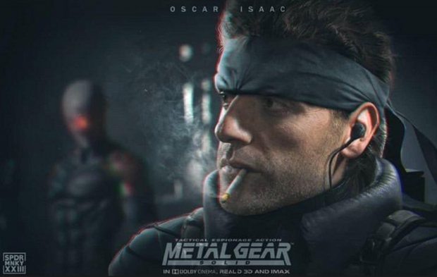 Star Wars' Oscar Isaac will portray Solid Snake in new Metal Gear film