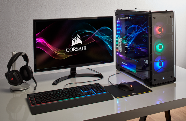 Introducing the CYBERPOWERPC Crystal Gaming Series Powered