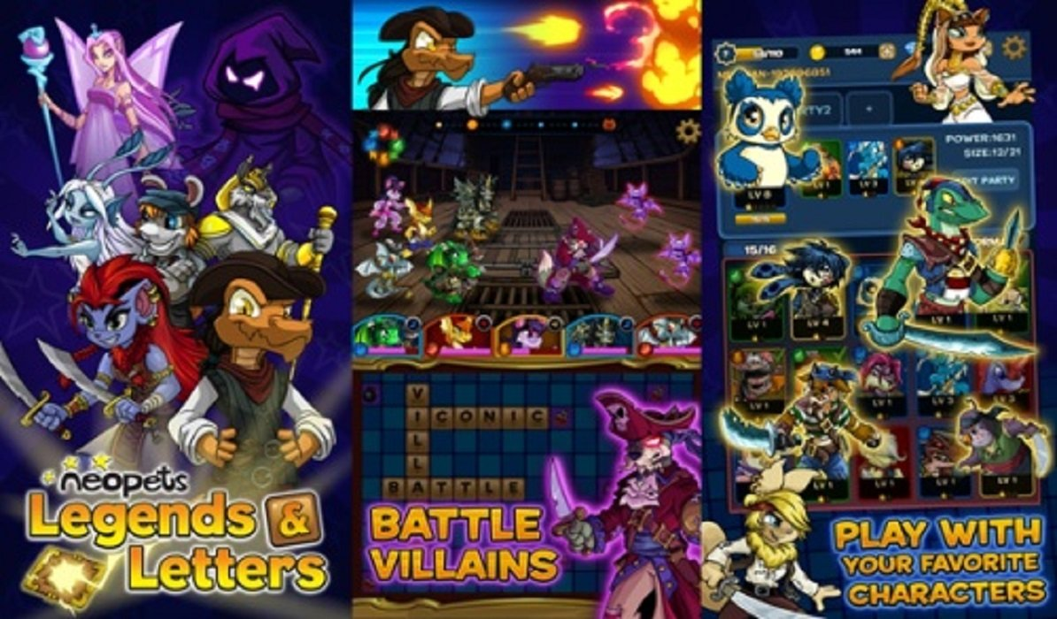 JumpStart, Subsidiary of NetDragon, Launches Neopets Legends