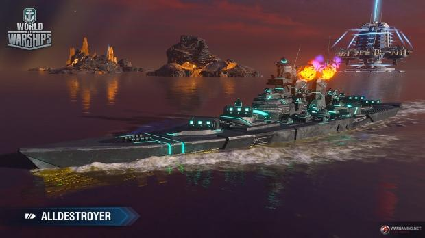 World of Warships Sails to Distant Worlds in April Fools' In