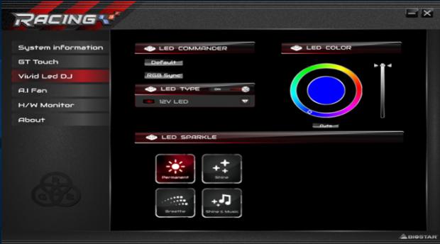 BIOSTAR Motherboards Integrates VIVID LED DJ with Razer Chroma