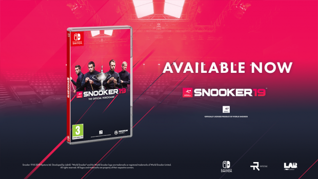 Snooker 19, the first official snooker game in a generation, is out now on Nintendo Switch