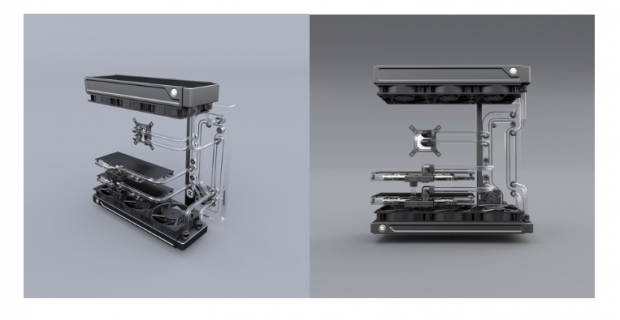 LIAN LI and EKWB Launches O11D Distro-Plate G1