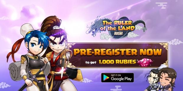 The Ruler of the Land RUSH: Idle RPG is now open for Pre