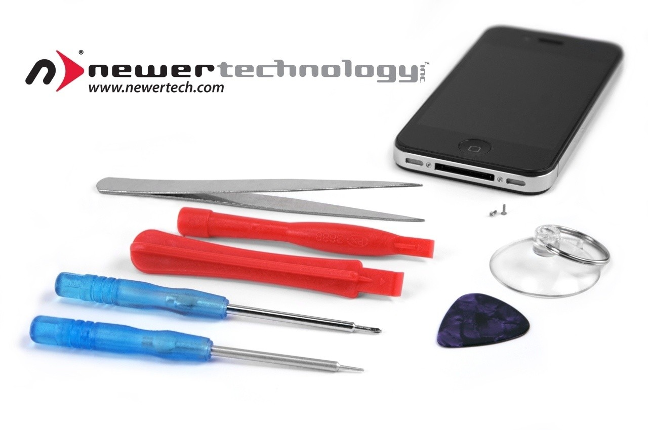 newertech_announces_seven_piece_toolkit_for_diy_servicing_of_iphone_4