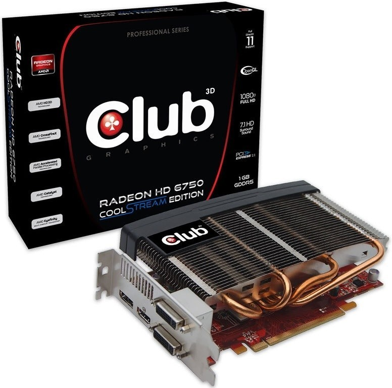 club_3d_announces_passive_cooled_radeon_hd_6750_coolstream_edition_graphics_card
