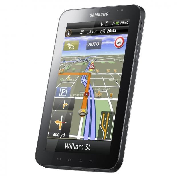 NAVIGON Updates Samsung Navigation App with Enhanced Tablet