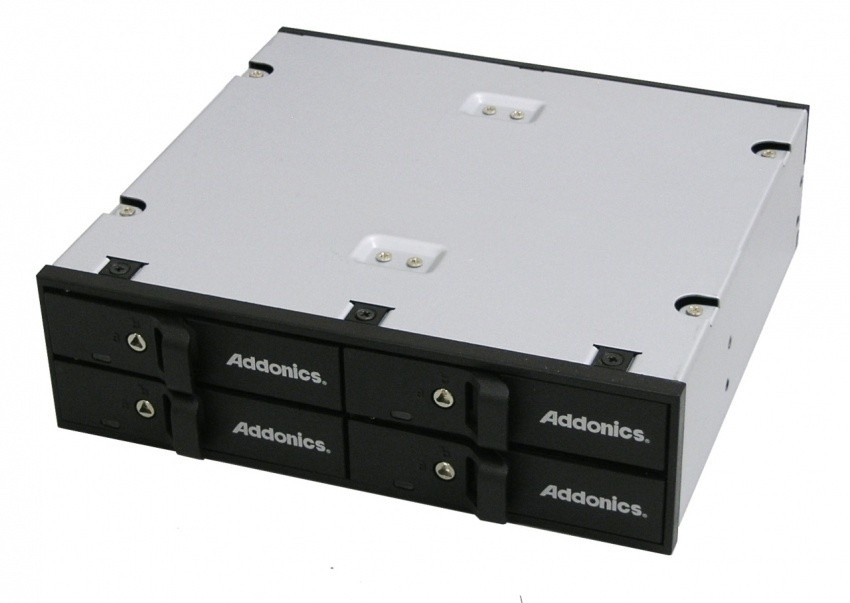 addonics_new_snap_in_disk_array_solutions_increase_hard_drive_storage_for_small_and_large_computing_systems