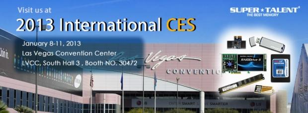 super_talent_technology_to_showcase_spectacular_product_lines_at_ces_2013