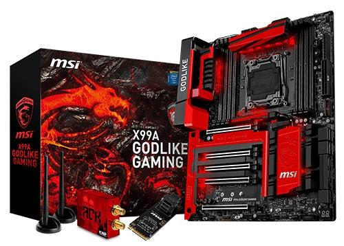 MSI releases the ultimate gaming motherboard, X99A GODLIKE